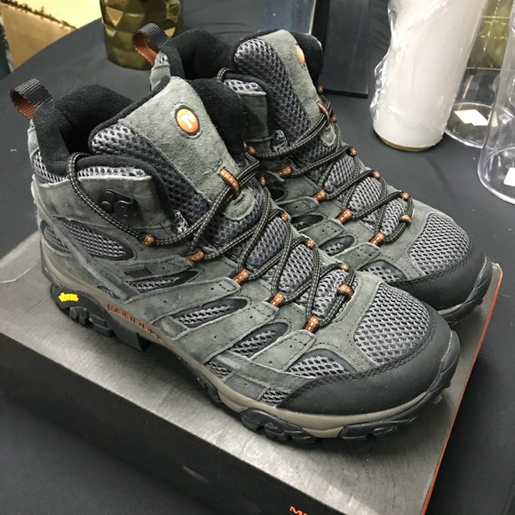 937832dd465 Merrell men's Moab 2 mid waterproof hiking boot